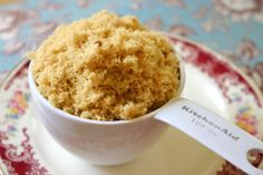 How to Make Homemade Brown Sugar - in case you ever run out!