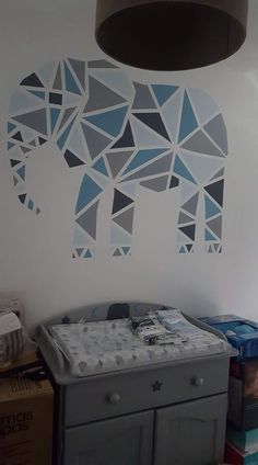 Wall Painting Designs With Tape Bedrooms Diy Art 63 Ideas Frog Tape Wall, Tape Wall Art, Diy Wall Art, Diy Art, Kids Room Murals, Kids Room Paint, Room Wall Painting, Diy Painting, Geometric Wall