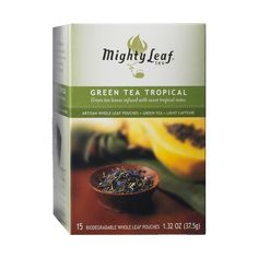 Mighty Leaf Tea - Tea Pouches, $9.95 #birchbox - didn't try these yet but they were a nice surprise!