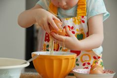Children love to bake, simple recipes to follow.