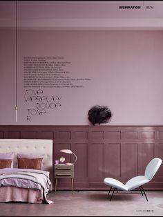danish #Rum interior design styling magazine pink minimalist scandinavian