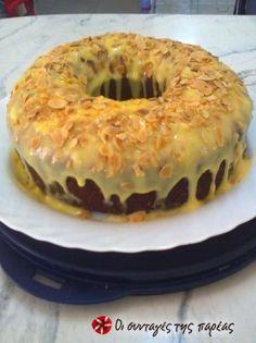Κέικ Λεμονιού με γλάσο