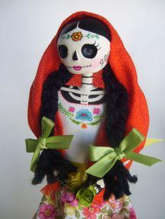 Catrina mexicana. Dia de Los muertos. Paper mache catrina doll. Day of the dead. Mexico. | Flickr - Photo Sharing!