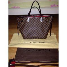Louis Vuitton Neverfull Handbags - 232.99$ #Louis #Vuitton #Neverfull #Handbags