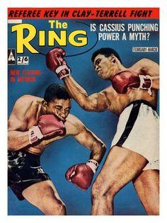 Boxing Magazine Cover, 1960
