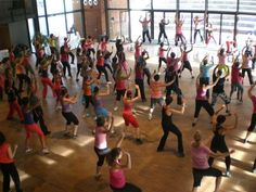 """Get your """"zumba"""" on when in Playa! (Then grab a margarita after all that work ;>"""