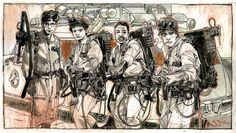Ghostbusters by Tommy Lee Edwards *