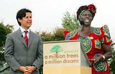 When we plant trees, we plan the seeds of peace and the seeds of Hope. We also secure the future of our children. ~Dr. Wangari Maathai    Shaklee led the way in achieving carbon neutrality in 2000 and has mobilized its networks to plant a million trees for the planet.