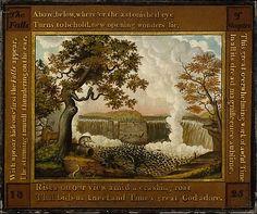 Edward Hicks (American, 1780–1849). The Falls of Niagara, 1825. The Metropolitan Museum of Art, New York. Gift of Edgar William and Bernice Chrysler Garbisch, 1962 (62.256.3)