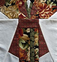 Asian quilt patterns | Kimono Quilt Blocks - 3 (NaomiV) Tags: asian japanese quilt fabric ...
