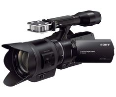 Interchangeable Lens HD Camcorder and Lens | NEXVG30H