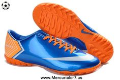 Buy Nike Mercurial Vapor X TF Blue Cleats