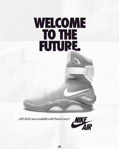 100% authentic 56891 3c57b Les pubs Nike des 80s avec des modèles daujourdhui. Affiche NikeCampagne  PublicitaireChaussures NikeFuturNike Air MagChaussures ...