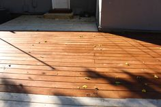 Deck Stain Olympic Maximum Stain + Sealant Semi Transparent Teak Deck Stain Colors, Paint Colors, Deck Staining, Raised Deck, Concrete Walkway, Fence Stain, Bedroom Fireplace, Back Deck, Outdoor Living