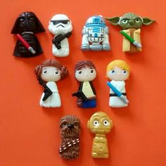 Image result for cupcake star wars fimo