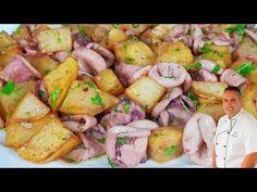 Chipirones al ajillo o calamares al ajillo, una RECETA FACIL que es una apretivo perfecto - YouTube Make It Yourself, Vegetables, Cooking, Ethnic Recipes, Sin Gluten, Youtube, Spanish Food, Appetizer Recipes, Potatoes