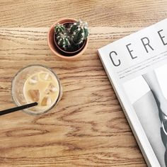 Yesterday's coffee at @hellokristof along with one of their great mags. Lisbon is boiling hot still but I'm looking forward to some time with friends this afternoon/evening  Hope your weekend is off to a great start! . . #butfirstcoffee #icedcoffee #coffeeaddict #cactus #cerealmagazine #hellokristof #lisboa #lisbon #portugal #visitportugal #portugalcomefeitos #portugaldenorteasul #igersportugal #instatravel #suitcasetravels #theprettycities #postcardplaces #passionpassport #abmtravelbug…