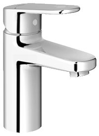 Grohe 33170002 Europlus Single Lever Centerset Lavatory Faucet in Starlight Chrome Bathroom Towel Rails, Bathroom Taps, Bathrooms, Bathroom Ideas, Bath Shower Mixer Taps, Kitchen Mixer Taps, Bathroom Soap Dispenser, Single Handle Bathroom Faucet, Basin Mixer Taps