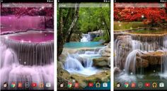 Waterfall Live Wallpaper for Android App free download images