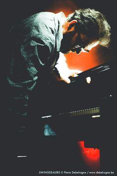 Jazz Pianist Dirk Van der Linden Music Village, Brussels, 2014-12.