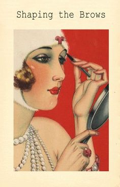 vintage 1920 colored makeup ads - Google Search