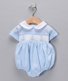 Take a look at this Blue David Bubble Bodysuit - Infant by Classy Couture on #zulily today!