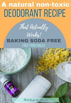 A Natural Deodorant Recipe that Actually Works – Baking Soda Free Do you want to make the switch to natural deodorant, but aren't sure how? Many homemade formulas don't work as well as they should and often contain irritating baking soda. This recipe will Diy Deodorant, Baking Soda Deodorant, Make Your Own Deodorant, Diy Natural Deodorant, Deodorant Recipes, Coconut Oil Deodorant, Diy Beauty Hacks, Beauty Ideas, Beauty Secrets