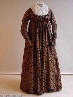 Regency dress, [undated - probably 1801-10]. Mode Museum.