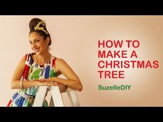 """7 January """"Takealot of this DIY Christmas Special with Suzelle"""". Episode How to make a Christmas tree."""