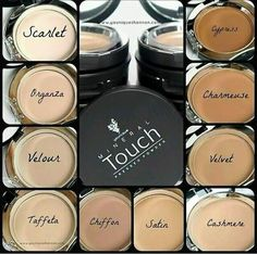 This is the perfect picture to find your match! These are pics of the actual product! Ultra fine, long-wearing, breathable foundation with full coverage :)