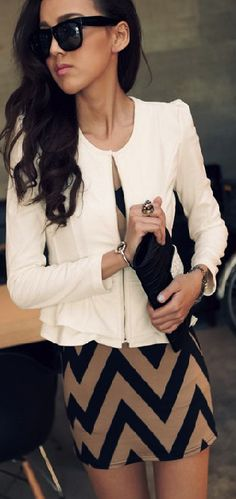 White cardigan | Work outfit