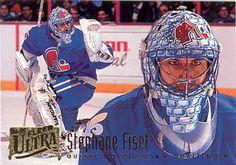 Quebec Nordiques Goalie   GoalieCards.com - 90's