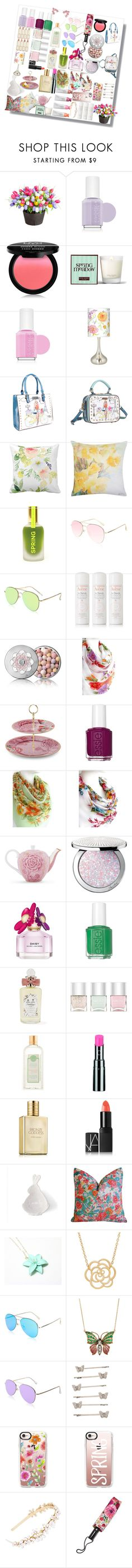 """All Things Spring"" by rolivian ❤ liked on Polyvore featuring Improvements, Essie, NYX, Henri Bendel, Giclee Glow, Nicole Lee, ULTA, M&Co, Dasein and Avène"