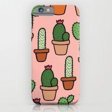 Cactus Pattern Slim Case iPhone 6s