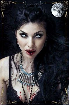 """Lilith"" Vampire Art"
