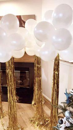 Sweet 16 Decorations, Gold Party Decorations, Bridal Shower Decorations, Wedding Reception Decorations, Valentine Decorations, Balloon Topiary, Balloon Backdrop, Balloon Columns, Birthday Balloon Decorations