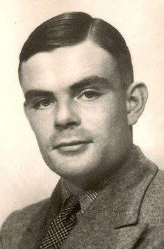 Alan Turing, WW2 British codebreaker par excellence and father of computing.