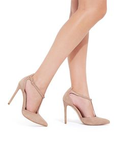 Classic T-Strap Nude Heel-Do you think whats the best dress to use with these?