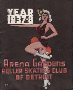 Arena Gardens Roller Skating Club of Detroit (1937-8)