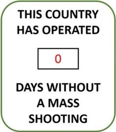 San Bernadino, CA 12/2/15 _ We've now had more mass shootings this year than there are days in the year. Congratulations, NRA.