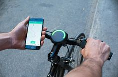 3 | This Smart Bike Navigation Gadget Relies On A Slick Ambient UI | Co.Design | business + design