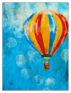 Hot Air Balloon by Music of the Heart
