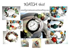 """WATCH this!!!"" by bscozycottagecrafts ❤ liked on Polyvore featuring Lazuli, boho, jewelry and EtsySpecialT"