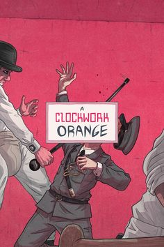 Kubrick Posters by Max Temescu • A Clockwork Orange