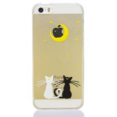 Moon Cats Phone Case – Meowingtons OMG this is legit the type of cat tattoo that I want with the two cats symbolizing my two kitties!! I need to save this!!