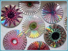 Great idea for recycling old cds