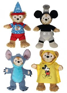 Duffy the Disney Bear costumes coming to Disney in early 2014. #cute