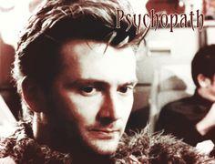 Psychopath - We love a bad boy or should this be mad boy! #DavidTennant