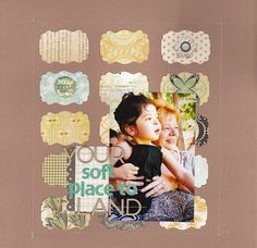 LOAD Diy Scrapbook, Scrapbook Layouts, Scrapbooking, Princess, Paper, Frame, Life, Ideas, Home Decor