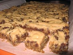 Coleen's Recipes: BAKE SALE RECIPES